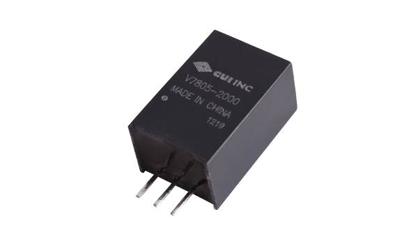 CUI Adds Compact 2 A model to DC Switching Regulator Series