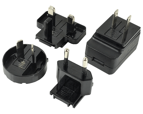 Multi-Blade Ac-Dc Power Adapters