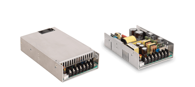 Compact, U-Frame Chassis Mount Power Supplies