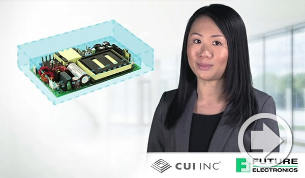 Future Electronics etech ALERT Features CUI's High Density Ac-Dc Power Supplies