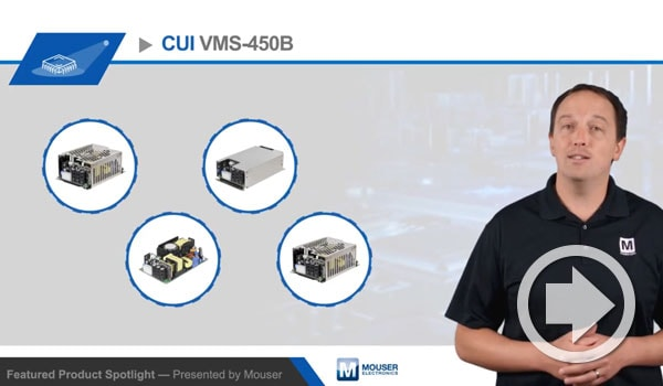Mouser Featured Product Spotlight Video Highlights CUI's VMS-450B