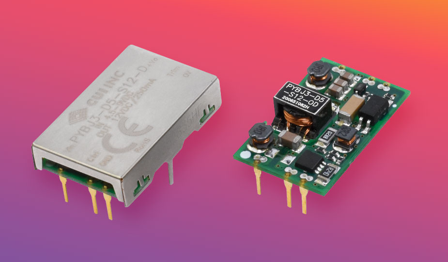 Ultra-Thin, Low Profile, 3 Watt Dc-Dc Converters Ideal for Portable Electronics