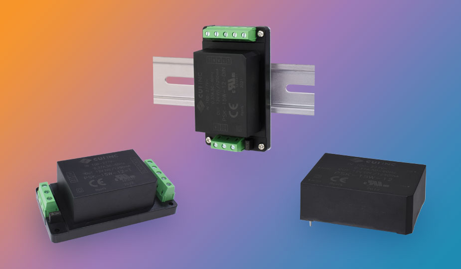 CUI Inc Expands Encapsulated Power Supplies Line with a Variety of Mounting Styles