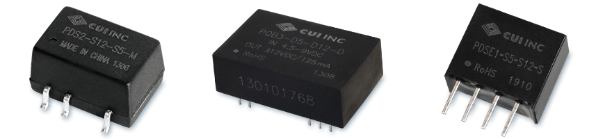 Regulated, Unregulated Low Power Dc-Dc Modules