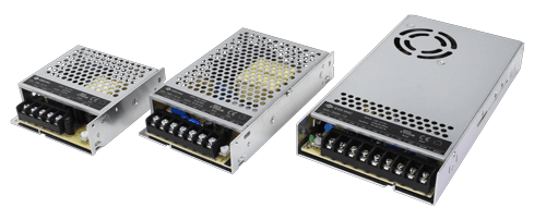 Chassis Mount Power Supplies in Rugged Metal Cases