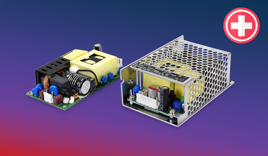 Efficient and Compact Medical Power Supplies for Space Constrained Applications