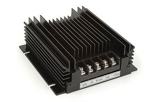 Dc-Dc Converters Offer 4:1 Input in a Rugged Chassis Mount Package