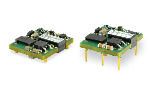 "15 W and 25 W Isolated Dc-Dc Converters Offer High Efficiency in a 1"" x 1"" Package"