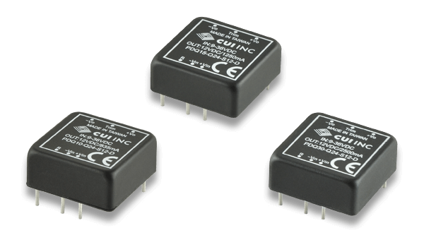 "1"" x 1"" Isolated Dc-Dc Converters Offer High Efficiency in a Rugged, Encapsulated Package"