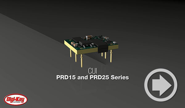 "Digi-Key Daily Video Features CUI's 1"" x 1"" Dc-Dc Converter Series"