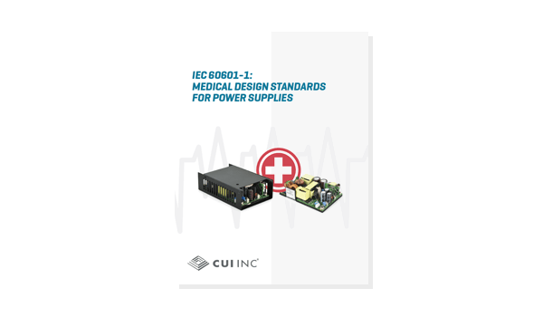 IEC 60601-1 Medical Design Standards for Power Supplies