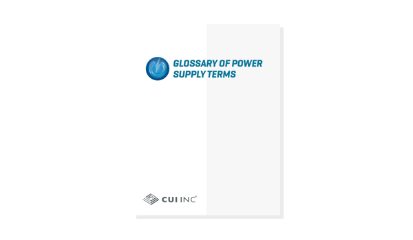 Glossary of Power Supply Terms