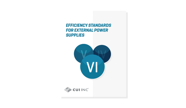 Efficiency Standards for External Power Supplies