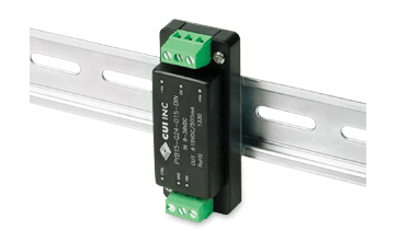 CUI Introduces Low Power DIN Rail Dc-Dc Converter Family in a Slim Package