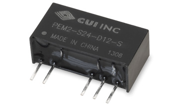 CUI Launches High Isolation Dc-Dc Converters with 105°C Operating Temperature Range for Challenging Applications