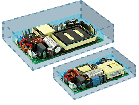 """2"""" x 4"""" and 3"""" x 5"""" Open Frame Power Modules"""