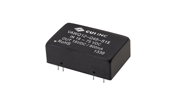 Converter Supplies 12 W in a Compact 24-Pin DIP Package